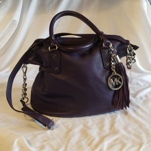 Beautiful soft Michael Kors pebbled leather